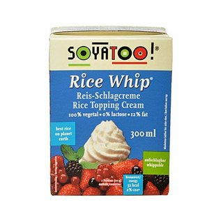 Soyatoo Rice-Whip - 300ml