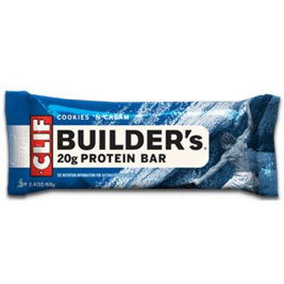 Clif Builders Bar Proteinriegel - 1 Stk. Cookies n Cream