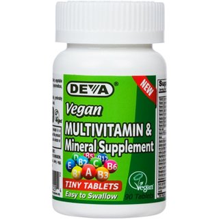 DEVA One-a-Day Vegan Multivitamin Tiny Tablets - 90 Tabs