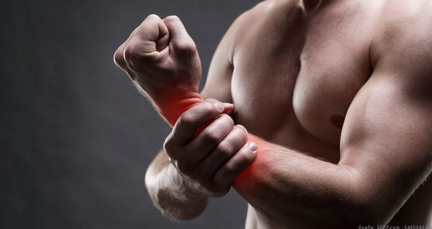 Schmerzen im Handgelenk