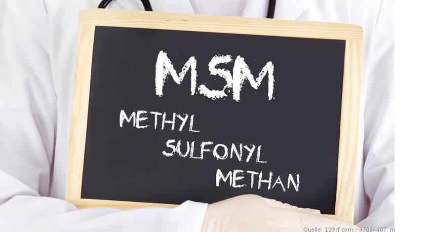 Schiefertafl mit MSM Schriftzug