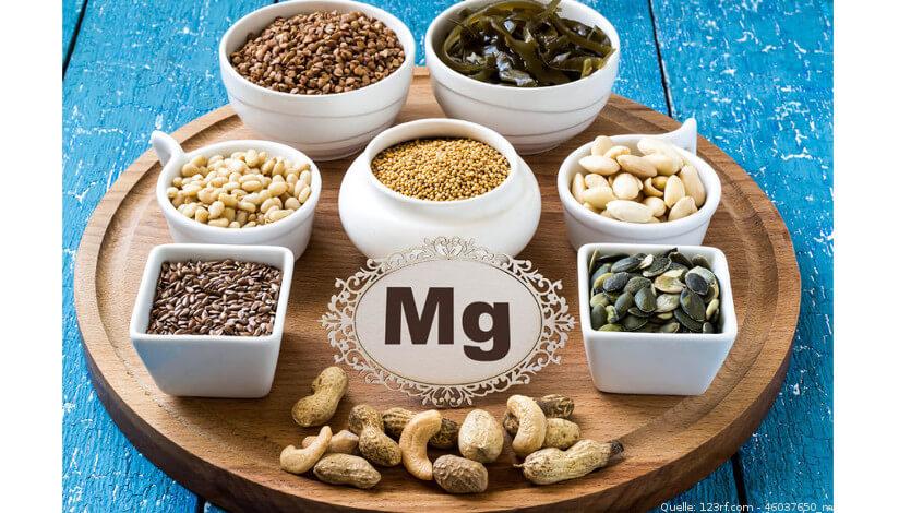 Magnesiumreiche Lebensmittel